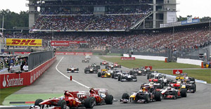Hockenheim German Formula 1 Grand Prix